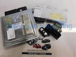 bmw e90 325i ignition switch w key ecu ews change over 7561684