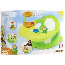siege de bain smoby cotoons siège de bain vert ou achat vente jouet de bain