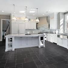 kitchen impressive vinyl kitchen flooring dark cabinets unusual