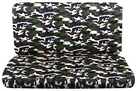 camo bench seat cover