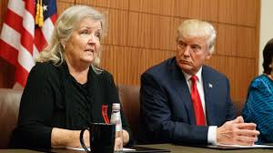 by linking trump with hate groups clinton spotlights the flashback donald trump called bill clinton s accusers terrible
