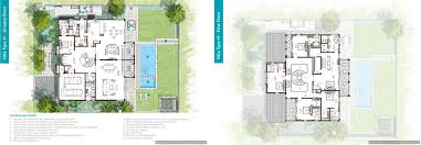 floor plans sanctuary falls jumeirah golf estates villas for