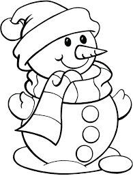 cute snowman pictures to color olaf coloring melting printable