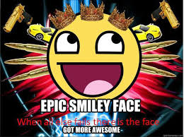 Smiley Face Memes - epic face memes quickmeme