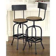 iron bar stools iron counter stools stirling adjustable wood backed bar stool by christopher knight home