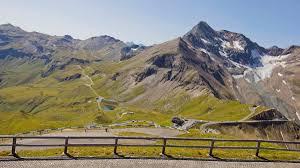 Alps Mountains Map Grossglockner High Alpine Road In Austria