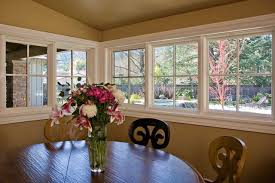 Corner Dining Room by Breakfast Nook With Corner Marvin Windows Bay Area Traditional
