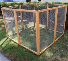 Backyard Chicken Run by Wooden Chicken Coop With Backyard Outdoor Run 87 Pawhut Deluxe Ebay