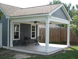 covered porch additions covered porch attached to back yard shed