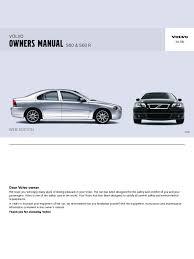 s60 owners manual en airbag seat belt