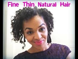 natural hair styles for thinning hair in the crown maintaining a defined twist curl fine thin natural hair youtube
