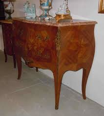 decoration bureau style anglais louis xv style marquetry commode floral decoration antique trade