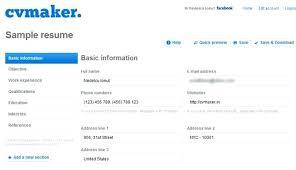 free resume creator best resume builders inssite