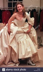 Vivienne Westwood Wedding Dress Lynne Johnston Clothes Show Bride Of The Year February 1998 With