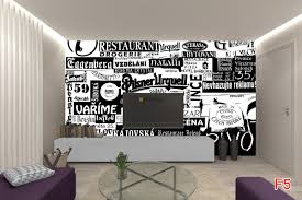 murals restaurant signs in black and white wall murals restaurant signs in black and white