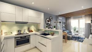 Kitchen Bedroom Design Small Open Plan Home Interiors