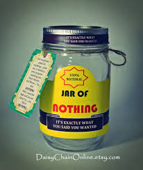 Christmas Gifts For Men Cheap - printable labels for diy jar of nothing diy by