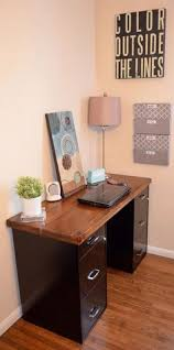 Computer Desk With File Cabinet Diy File Cabinet Desk Blendtec Giveaway Somethings To Try