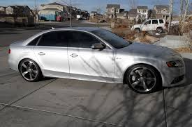 silver audi s4 what rims are on your silver s4