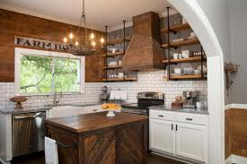 gallery of small kitchen makeover with farmhouse theme designed