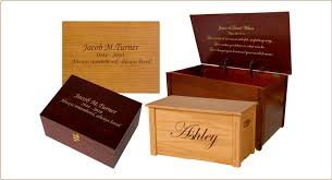 engraved memory box wooden memory box chests handcrafted keepsake boxes memorial