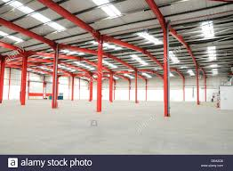 Warehouse Interior by An Interior Of And Empty Modern Warehouse Stock Photo Royalty