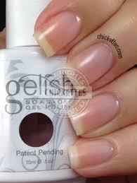 nicely polished gelish soak off gel polish simple sheer 15ml