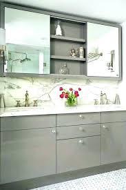 Bathroom Mirrors And Cabinets Vanity Mirror With Cabinet Sliding Mirror Cabinet Bathroom