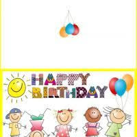 printable happy birthday card you can download and print for free