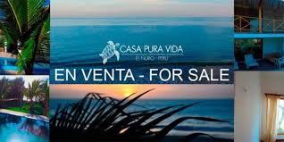 pura sale pura vida house for sale at el ñuro máncora perú hoteles