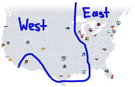 nba divisions map nba conference division re alignment ideas realgm