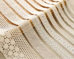 lace ribbon by the yard beige cotton lace fabric trim 6 types cotton net lace ribbon