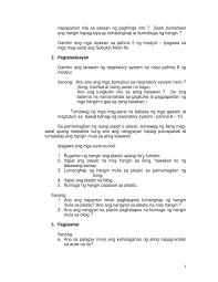 7 paano tayo huminga by deped reg 10 issuu