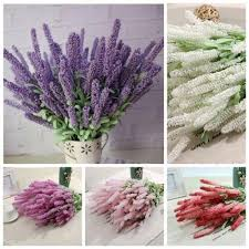 silk flowers for wedding 1 bouquet artificial lavender silk flower bridal bouquets for