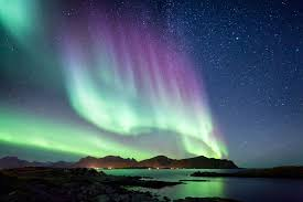 the aurora borealis northern lights in scandinavia