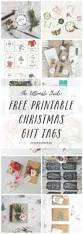 the ultimate adorable free printable christmas gift tag round up