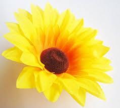 Artificial Sunflowers Buy 12 Silk Yellow Sunflowers Sun Flower Heads Gerber Daisies