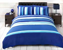 nautical theme striped reversible duvet quilt cover bedding bed