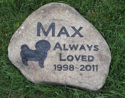 pet memorial stones bichon frise pet memorial bichon grave burial