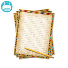 writing stationery paper civil war writing template border paper school project printables printable papyrus writing paper for your ancient egypt school project you can feel just like