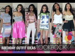 birthday ideas lookbook youtube