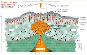 chambre magmatique d馭inition la divergence des plaques lithosphériques au niveau des dorsales