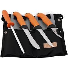 eka eskilstuna butcher knife set 4 pcs stainless steel made in