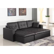 canapé d angle en simili cuir canapé d angle lit convertible girly noir en simili cuir