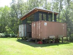 eco friendly house ideas storey off grid living cargo container house shipping home