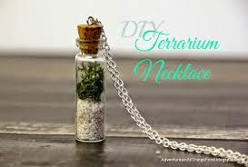 adventures in all things food diy terrarium necklace