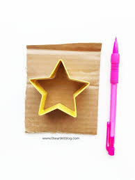 super simple christmas star craft for kids