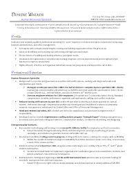 Recruiter Sample Resume Brilliant Ideas Of Hr Specialist Recruitment Cv Rnei It Specialist