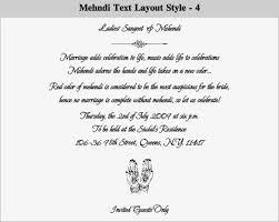 mehndi card wording mehndi invitation wording s cards
