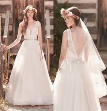 wedding dress vintage dress mikaella bridal 2063 backless wedding dress wedding